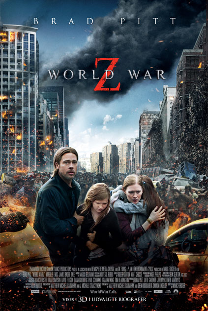 world war z på dvd